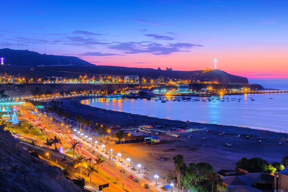 Explore Lima under the Moonlight